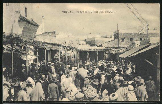 AK Tetuan, Plaza del Zoco del Trigo