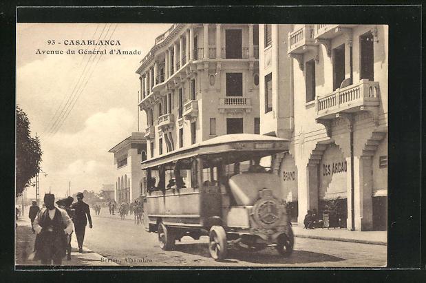 AK Casablanca, Avenue du General d`Amade
