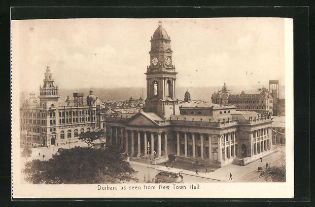 AK Durban, as seen from New Town Hall