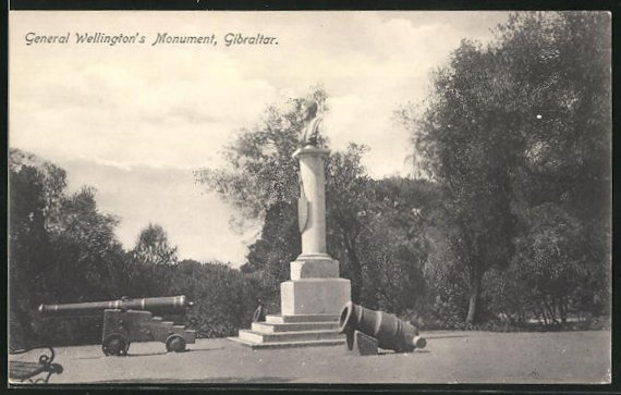 AK Gibraltar, General Wellington`s Monument