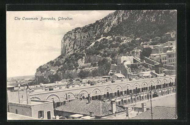 AK Gibraltar, The Casemate Barracks