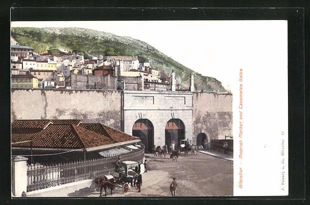 AK Gibraltar, Moorish Market and Casemates Gates