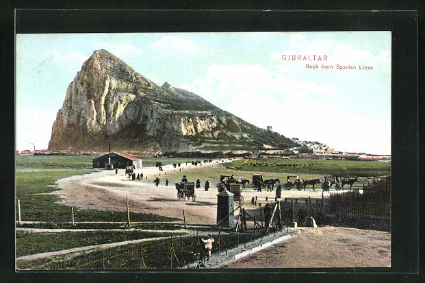 AK Gibraltar, Rock from Spanish Lines