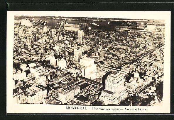 AK Montreal, Une vue aérienne