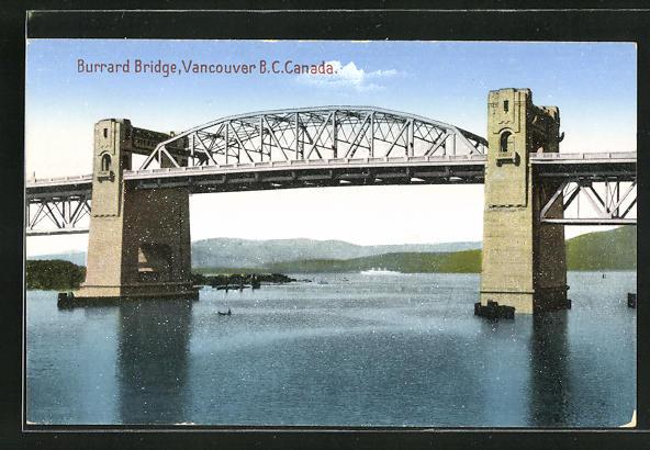 AK Vancouver, Burrard Bridge