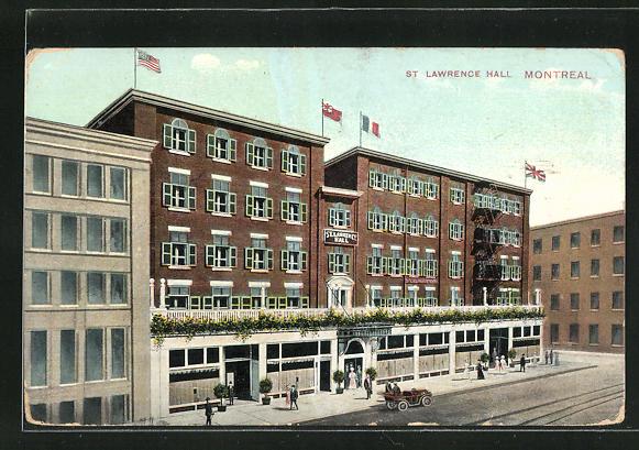 AK Montreal, St Lawrence Hall