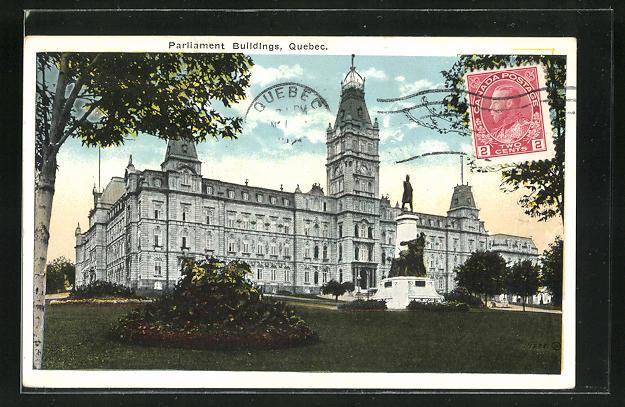 AK Quebec, Parliament Buildings