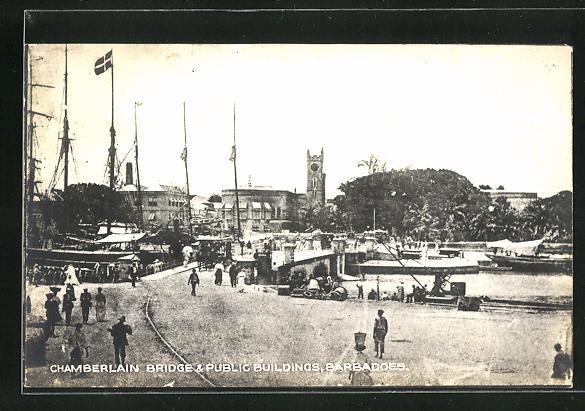 AK Barbadoes, Chamberlain Bridge & Public Buildings