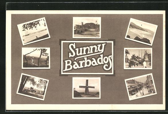 AK Barbados, versch. Ansichten