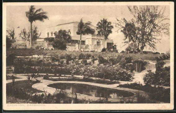 AK Barbados, Erdiston