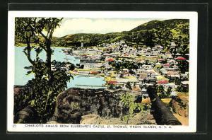 AK Charlotte Amalie, from Bluebeard's Castle St. Thomas