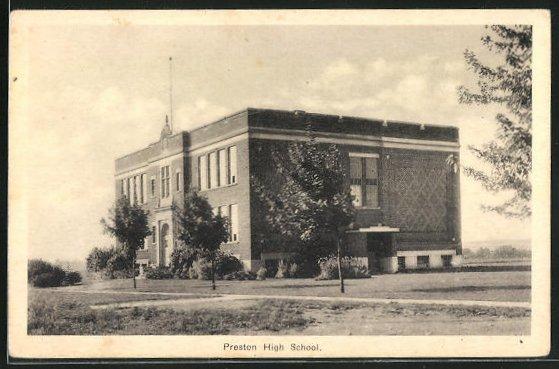 AK Preston, High School