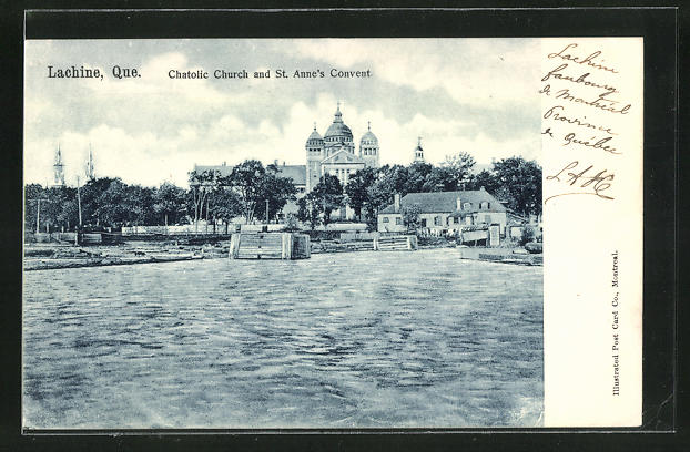 AK Lachine, Chatolic Church and St Anne's Convent