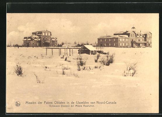 AK Noord-Canada, Missien der Paters Oblaten
