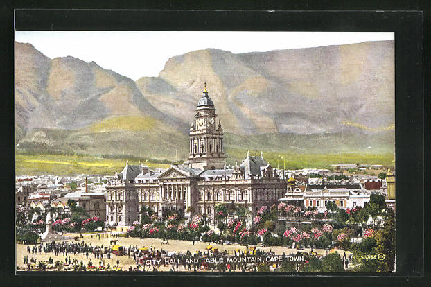 AK Cape Town, City Hall and Table Mountain