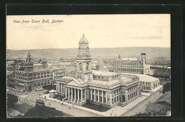 AK Durban, View from Town Hall