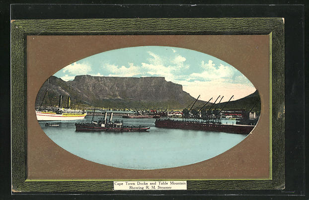 AK Cape Town, Docks and Table Mountain