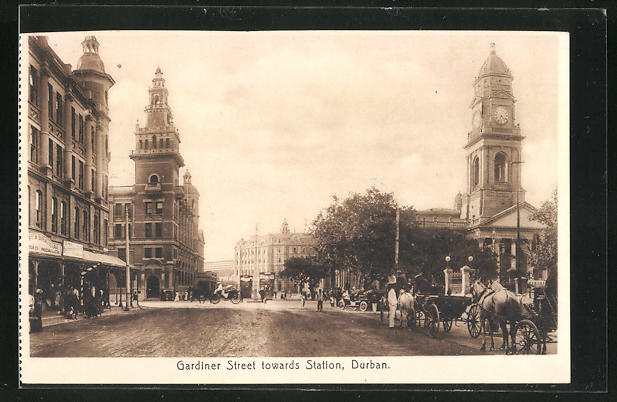 AK Durban, Gardiner Street towards Station