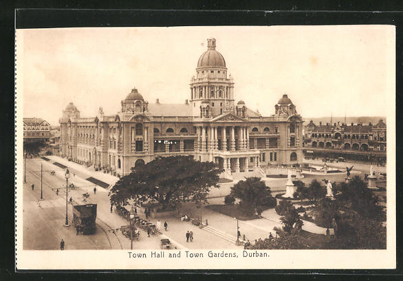 AK Durban, Town Hall and Town Gardens