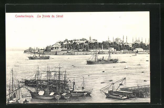 AK Constantinople, La Pointe du Serail