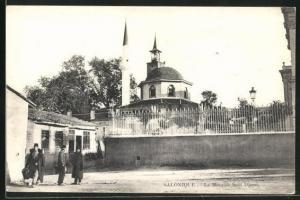 AK Salonique, La Mosquee Saatli Djami