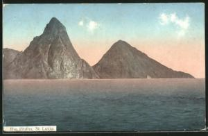 AK St. Lucia, The Pitons