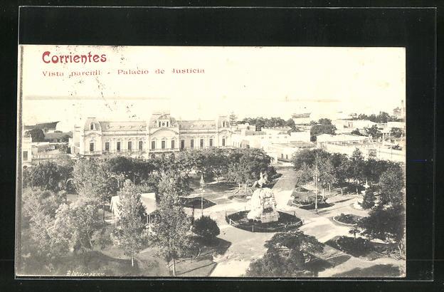 AK Corrientes, Vista parcial, Palacio de Justicia