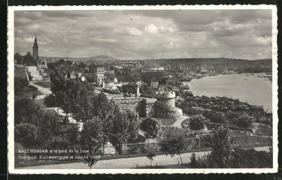 AK Belgrad, Kalemegdan et le bord de la Save