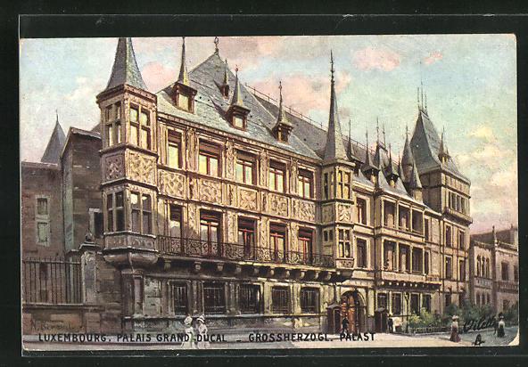 AK Luxembourg, Grossherzoglicher Palast