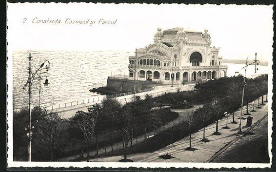AK Constanta, Cazinoul si Parcul