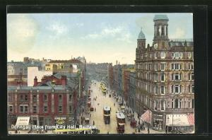 AK Belfast, Donegall Place from City Hall