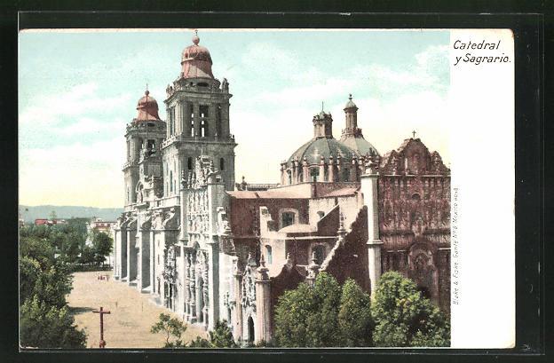AK Mexico, Catedral y Sagrario