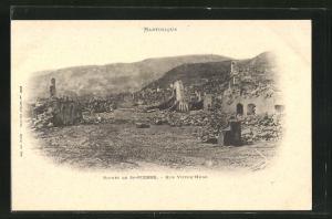 AK St-Pierre, Ruines, Rue Victor-Hugo