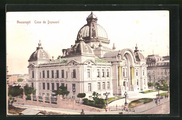 AK Bucuresti, Casa de Depuneri