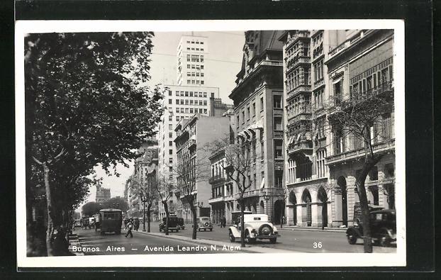 AK Buenos Aires, Avenida Leandro N. Alem