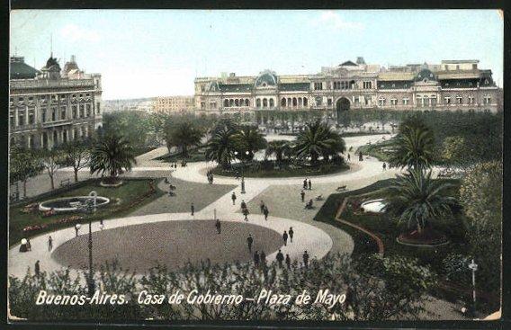 AK Buenos Aires, Casa de Gobierno, Plaza de Mayo