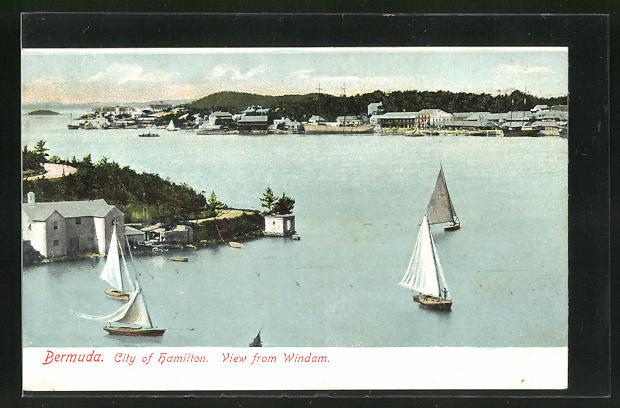 AK Hamilton, City, View from Windam