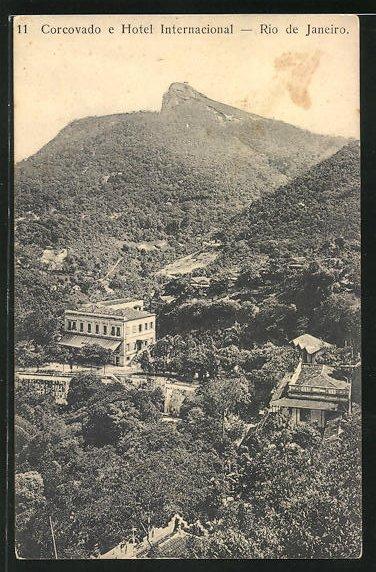 AK Rio de Janeiro, Corcovado e Hotel Internacional
