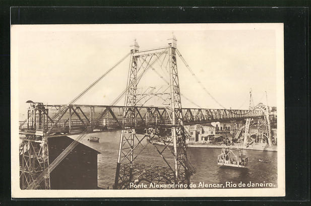 AK Rio de Janeiro, Ponte Alexandrino de Alencar