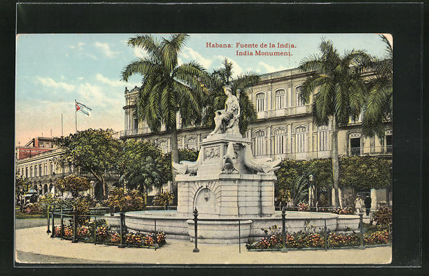 AK Habana, Fuente de la India, Monument