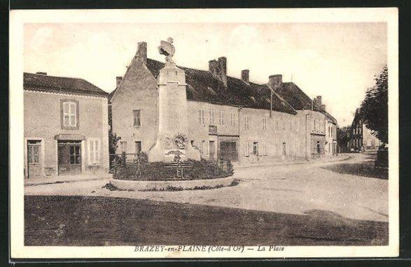 AK Brazey-en-Plaine, La Place