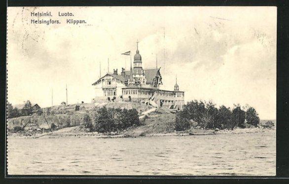 AK Helsinki, Luoto, Villa am Hochufer