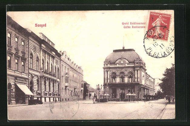 AK Szeged, Grand Etablissement Cafe-Restaurant