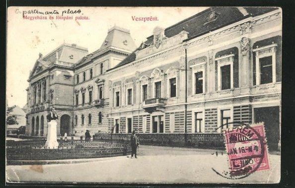 AK Veszprém, Megyeháza és föispáni palota