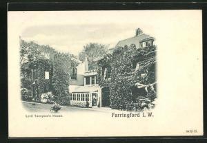 AK Farringford, Lord Tennyson`s House