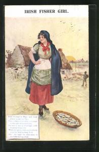 AK Galway-Claddagh, Irish Fisher Girl