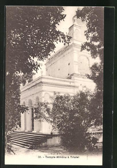 AK Triolet, Temple Hindou