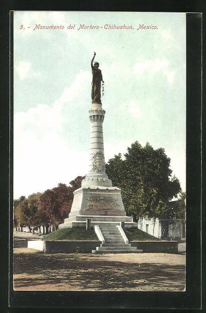 AK Chihuahua, Monumento del Mortero