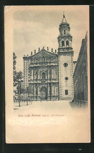 AK San Luis Potosi, Iglesia del Carmen