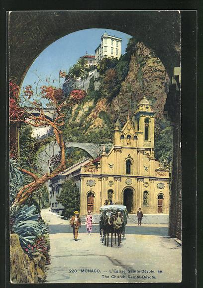 AK Monaco, L`Eglise Sainte-Dévote